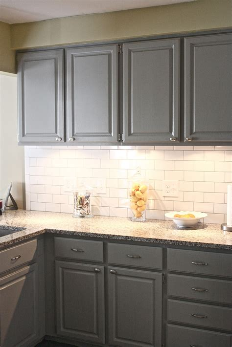 Black Kitchen Cabinets And Cream Floor Tiles  Best Home