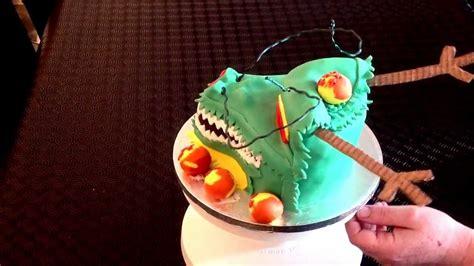 dragon cake shenron dragonball birthday