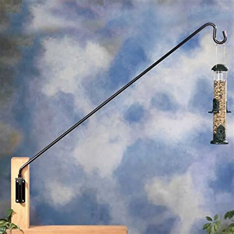 bird feeder hangers duncraft 36 quot extended reach wall bracket