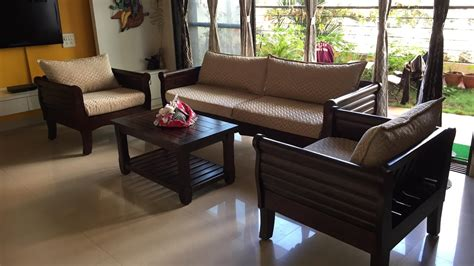 Royal Authentic Wooden Maurya Sofa By Rightwood Furniture