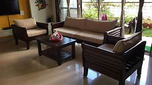 Royal, Authentic, Wooden, Maurya, Sofa, By, Rightwood, Furniture, New, Design, 2017