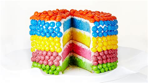 rainbow cake recipe  cake recipes