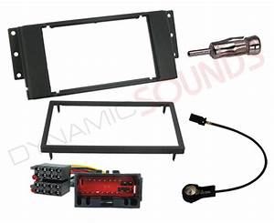Double Din Cd Stereo Fitting Kit  Fascia Wiring Iso For