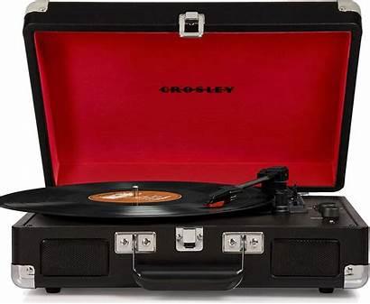 Crosley Cruiser Deluxe Lecteur Vinyle Noir Platines