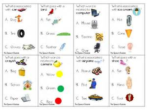 Analogy Worksheets