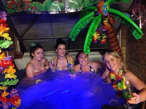 enjoy  party  hot tub hire albanian journalism