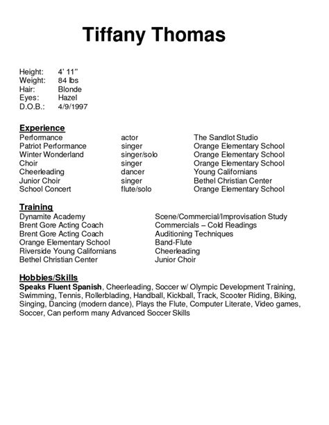 What To Say In A Resume by Best Things To Say On Resume Resume Format
