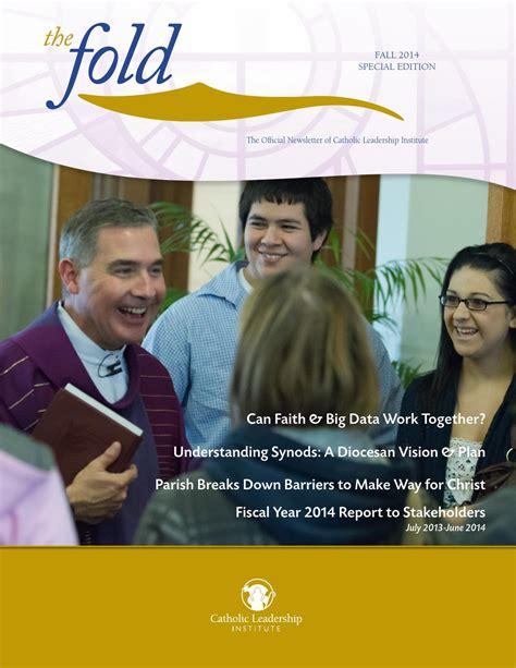 fy annual report  catholic leadership institute issuu