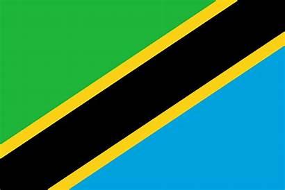 Drapeau Tanzanie Tanzania Flaggen Bandera Flag Flagge