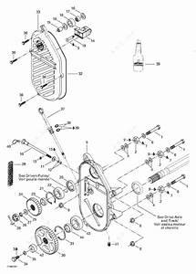 Ski Doo 2003 Legend - 380f  550f  Chaincase