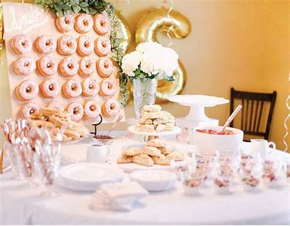 Bridal Shower Southern Donut Board Throw