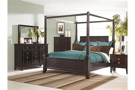 martini suite bedroom set the martini suite poster bedroom set from furniture