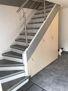Renovation D Escalier En Bois : maytop tiptop habitat habillage d escalier r novation ~ Premium-room.com Idées de Décoration