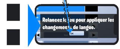 change language   fortnite mobile app