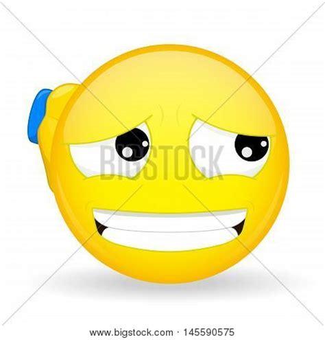 27320 smiley with sorry symbol stock vector 169 natalipopova 124505 guilty emoticon apologetic vector photo bigstock