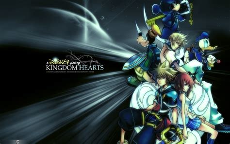 Anime Kingdom Wallpaper - kingdom hearts free pc desktop background 04