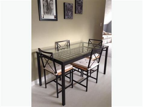 ikea granas dining table and 6 chairs west shore langford
