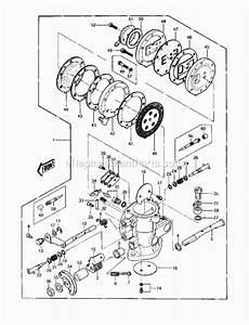 Kawasaki Js440-a11 Parts List And Diagram