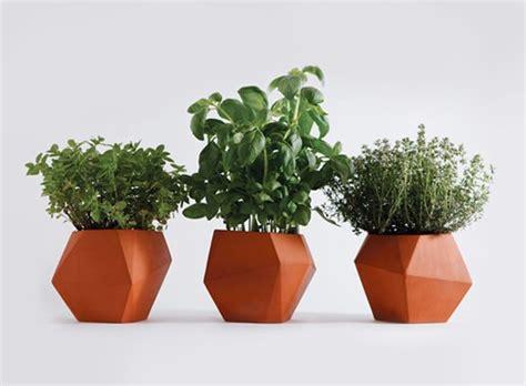 Windowsill Pots For Herbs by Herb Pot Accessories Better Living Through Design