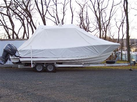 Custom Boat Winter Covers by Custom Canvas Boat Covers
