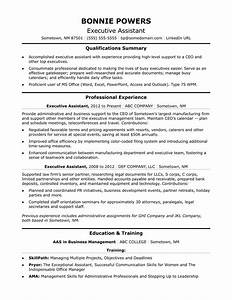 executive administrative assistant resume sample monstercom With executive assistant resume