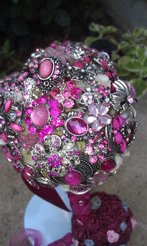 Best 25 Bling Bouquet Ideas On Pinterest Pearl Bouquet