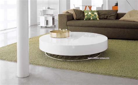 table basse ronde design pas cher table basse blanc laquee pas cher maison design bahbe
