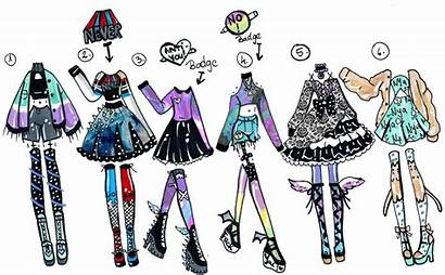 Guppie Deviantart Vibes Outfits Clothes Closed Pack