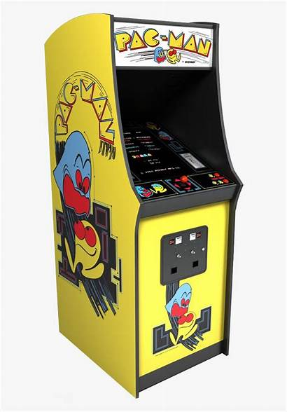 Arcade Pacman Machine Transparent Clipart Clipartkey