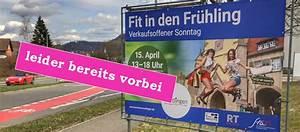 Reutlingen Verkaufsoffener Sonntag 2016 : 1 verkaufsoffener sonntag 2018 mit 39 fit in den fr hling 39 in reutlingen ~ Watch28wear.com Haus und Dekorationen