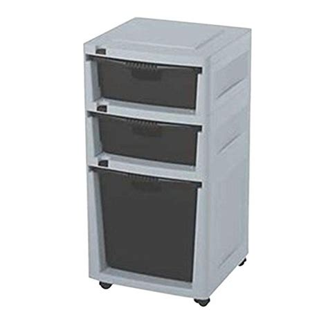 free standing kitchen storage cabinets with drawers suncast heavy duty garage storage system free standing