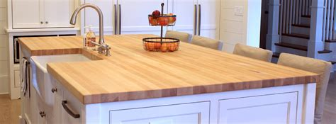 butcher block countertop island how to clean and maintain your j aaron wood countertops
