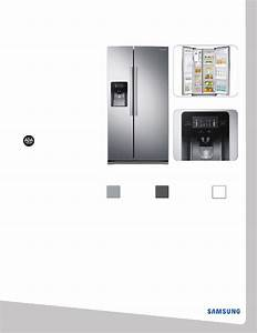 Samsung Rs25j500dsg Refrigerator Manual Pdf View  Download