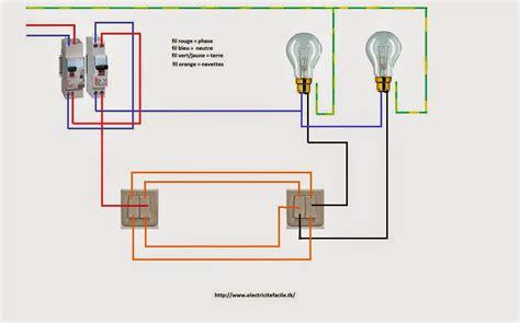 schemas electricite maison schema electrique double va