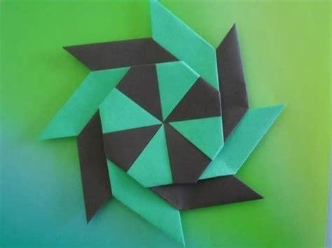 comment faire un origami origami comment faire un shuriken a 8 branches transformable bonus 1080p