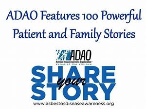 ADAO Features 100 Powerful Patient and Family Stories for ...