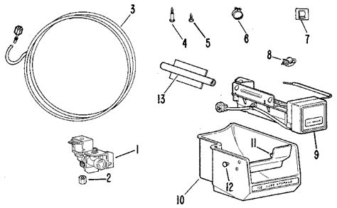 ge ice maker kit parts model im sears partsdirect