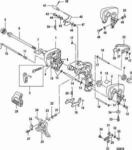 Mercury Marine 20 Carburetor  2 Cylinder   4