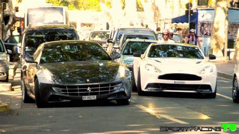 Exotic Cars & Supercars St Tropez 2015 (vanquish 2015