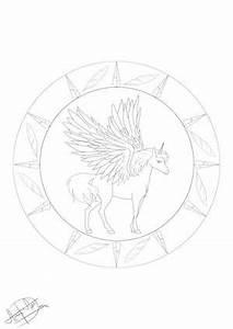 Ausmalbilder Einhorn Und Pegasus Kostenlose Malvorlagen
