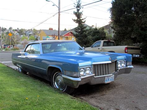 seattles classics  cadillac deville convertible