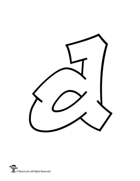 graffiti lowercase letter    bubble letters