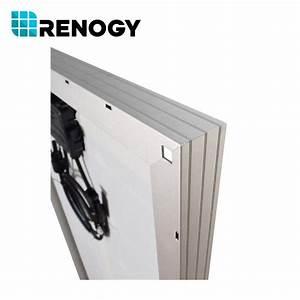 Renogy 100W Watt Slim Design Solar Panel Mono 12V Volt Off ...