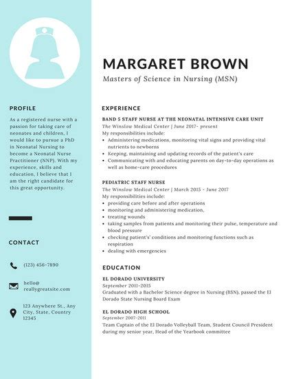 modern resume templates canva