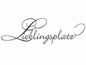 Tattoos Für Die Wand : wandtattoo lieblingsplatz mit schn rkel ~ Articles-book.com Haus und Dekorationen