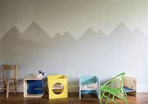Peinture Sur Papier Peint Existant : comment peindre une chambre en deux couleurs peinture ~ Dailycaller-alerts.com Idées de Décoration