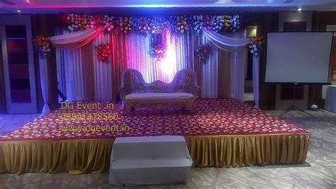 50th golden wedding anniversary party decorations ideas 09891478183 youtube