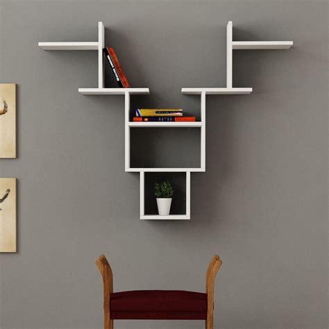 libreria mensola come aggiungere colore e stile alle pareti della casa con