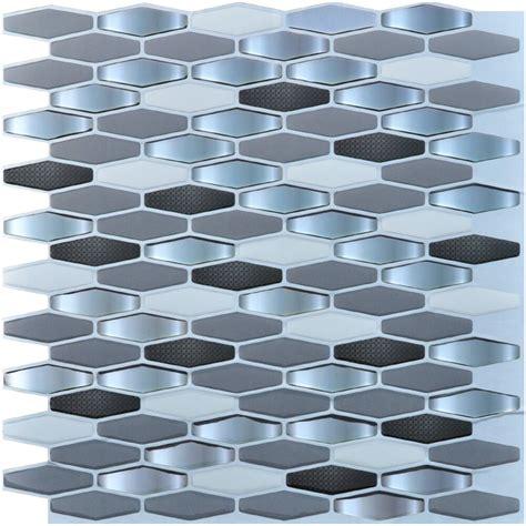 Stick Tiles Kitchen by Art3d Peel And Stick Tile Kitchen Backsplash Tile Sticker