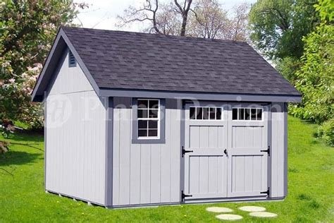 10 by 12 shed plans free shed plans outdoor building blueprints 12 x 12 gable